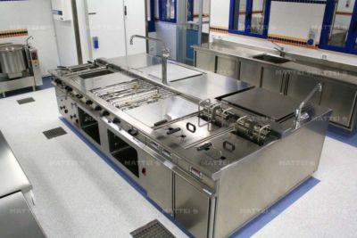 Progetto completo cucina professionale a Roma