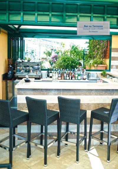 Progettazione e realizzazione Banco bar