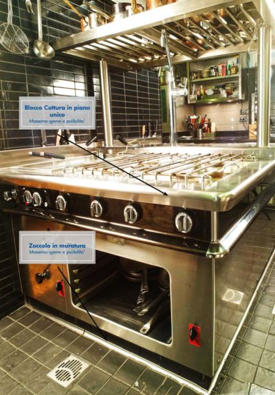 Cucine professionali monoblocco