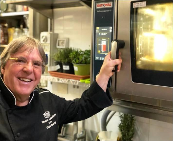 Forno Rational nella cucina professionale