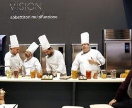 Coldline Abbattitori Vision per cucine professionali