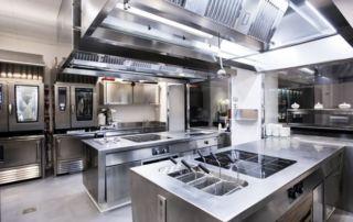 Cucina monoblocco professionale