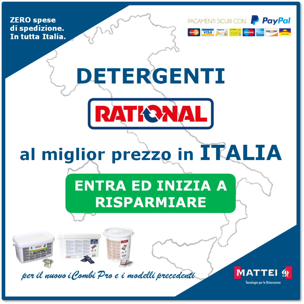 Detergente Rational al miglior prezzo